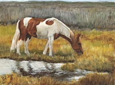 Meadow Munching by Kathy Winkler