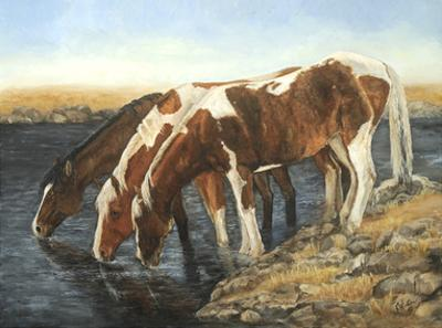Tres Caballos by Kathy Winkler
