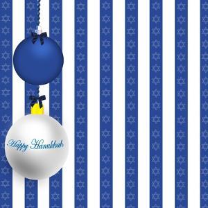 Happy Hanukkah Illustration by kathygold