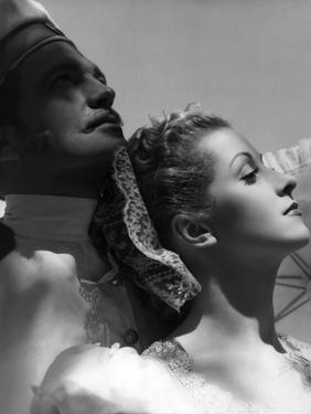 Katia by Maurice Tourneur (d'apres un roman by Lucile Decaux) with John Loder and Danielle Darrieux