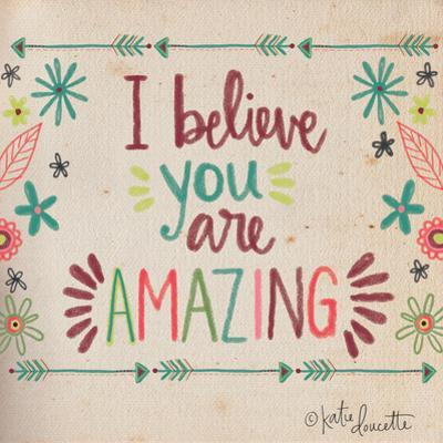 Amazing by Katie Doucette
