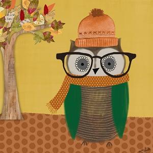 Autumn Owl by Katie Doucette