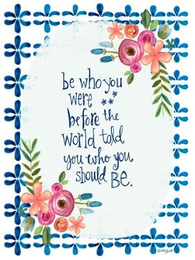 Be Who You Were by Katie Doucette