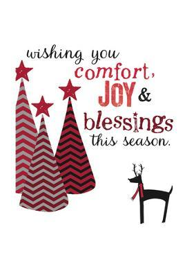 Comfort Joy and Blessings by Katie Doucette