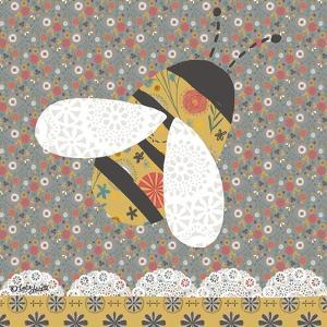 Ditsy Bee by Katie Doucette