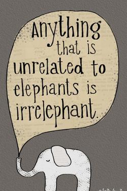 Elephant by Katie Doucette