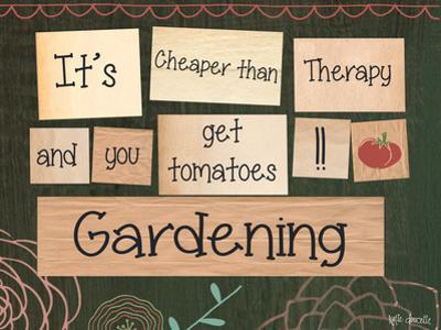 Gardening by Katie Doucette