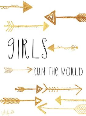 Girls Run the World by Katie Doucette
