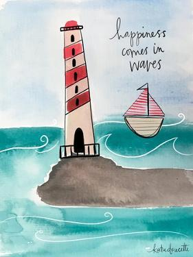 Happiness Comes in Waves by Katie Doucette