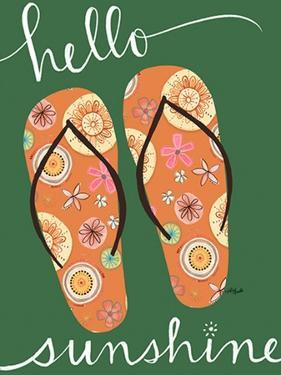 Hello Sunshine - Green by Katie Doucette