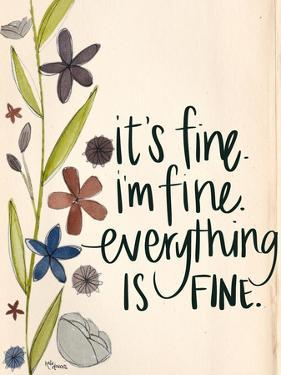 It's Fine by Katie Doucette