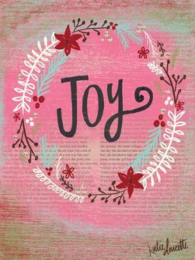 Joy Wreath by Katie Doucette