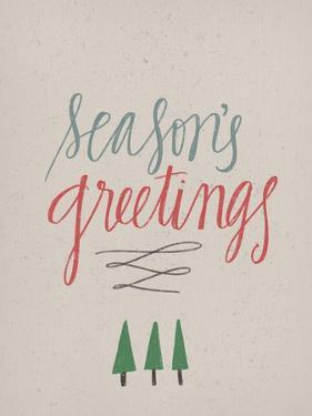 Season's Greetings by Katie Doucette