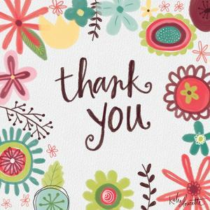 Thank You Floral by Katie Doucette