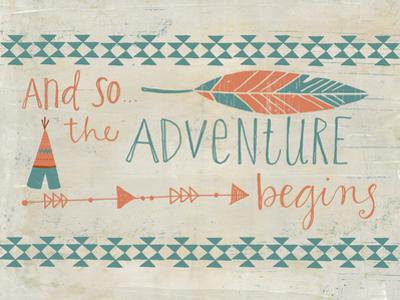 The Adventure Begins by Katie Doucette