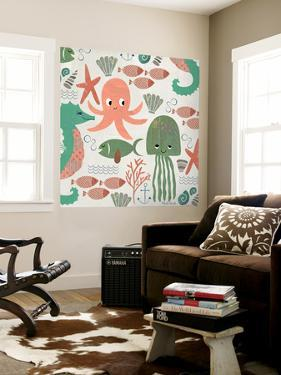 Under the Sea Pattern by Katie Doucette