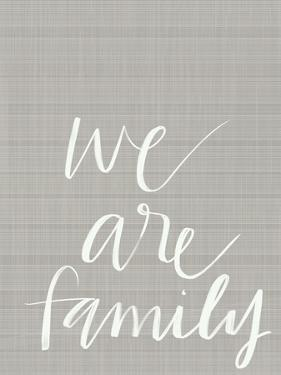 We Are Family by Katie Doucette