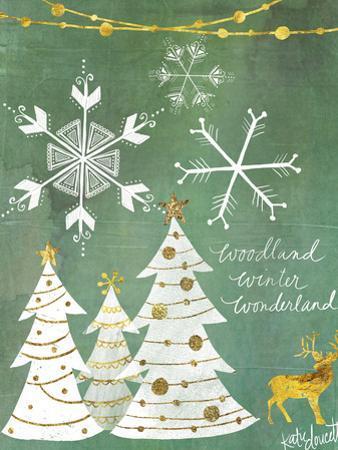 Woodland Winter Wonderland by Katie Doucette
