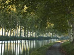 France, Languedoc-Rousillon, Canal Du Midi by Katie Garrod