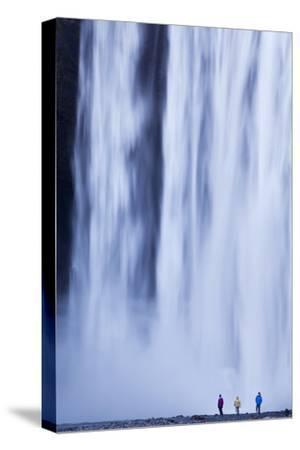 Iceland, Skogafoss. the 62M High Waterfall of Skogafoss at the Western Edge of Skogar.