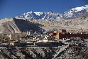 Nepal, Mustang, Lo Manthang. Lo Manthang by Katie Garrod