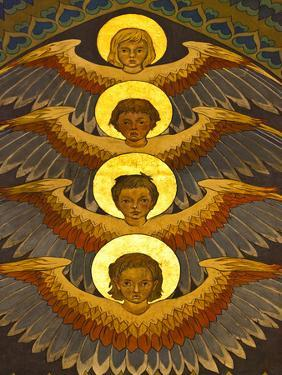 Poland, Cracow, Extraordinary Art Nouveau Decoration in the Franciscan Church, Designed by Stanisla by Katie Garrod