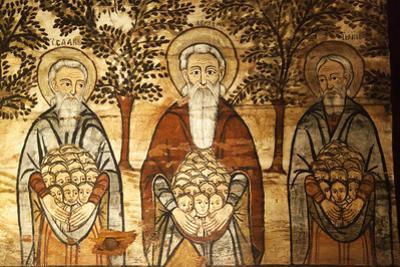Romania, Maramures, Ieud. Abraham