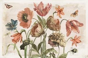 Antiquarian Blooms II by Katie Pertiet