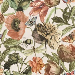 Antiquarian Blooms Pattern IA by Katie Pertiet