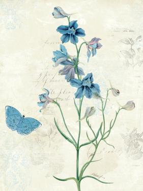 Booked Blue II Crop by Katie Pertiet