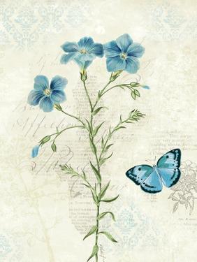 Booked Blue III Crop by Katie Pertiet