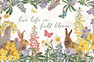 Easter Garden I Bow Tie by Katie Pertiet