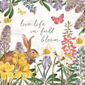 Easter Garden II Bow Tie by Katie Pertiet