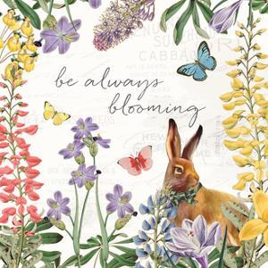 Easter Garden III Bow Tie by Katie Pertiet