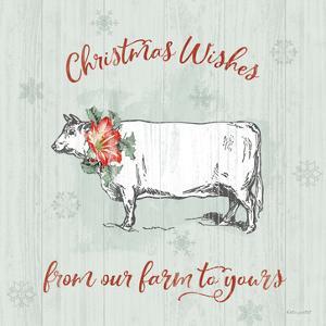 Farmhouse Christmas III by Katie Pertiet