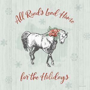 Farmhouse Christmas IV by Katie Pertiet