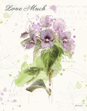 Floral Splash III Love Much by Katie Pertiet