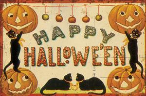 Halloween Nostalgia Happy Halloween by Katie Pertiet