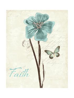 Slated Blue III Faith by Katie Pertiet