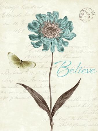 Slated Blue IV Believe by Katie Pertiet