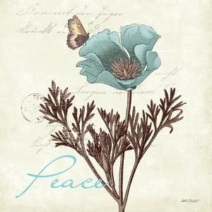 Touch of Blue I by Katie Pertiet
