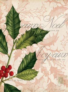 Vintage Noel I by Katie Pertiet