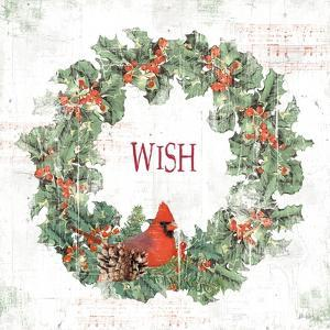 Wooded Holiday IV Wish by Katie Pertiet