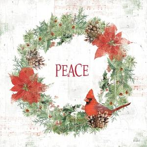 Wooded Holiday V Peace by Katie Pertiet