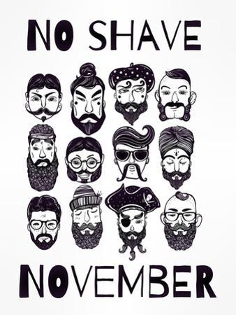No Shave November Set. by Katja Gerasimova