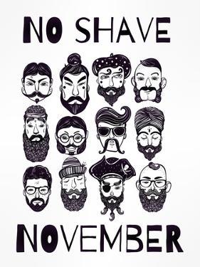 No Shave November Set. by Katja Gerasimova