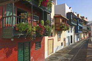Avenida Maritima in Santa Cruz De La Palma, La Palma, Canaries, Spain by Katja Kreder