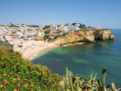 Carvoeiro, Algarve, Portugal by Katja Kreder