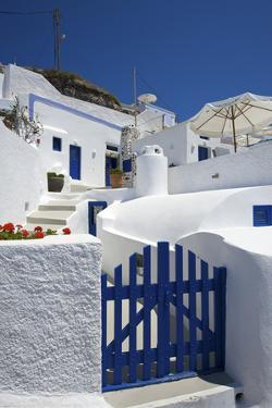 Hotel in Imerovigli, Santorini, Cyclades, Greece by Katja Kreder
