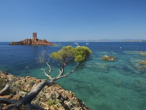 Ile D´Or at Corniche De L´Esterel, Cote D´Azur Provence-Alpes-Cote D'Azur, France by Katja Kreder